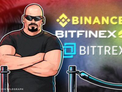 Binance ،Bitfinex ،Bittrex به طور موقت کاربر جدید نمی گیرند