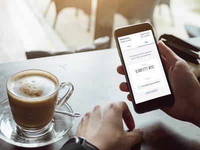 نوشیدن قهوه و خرید برگر توسط ارز های رمزنگار