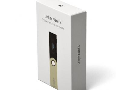 کیف پول سخت افزاری لجر نانو اس Ledger nano s
